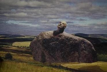 A composite photo of  Joe Wheelwright's proposed sculpture.